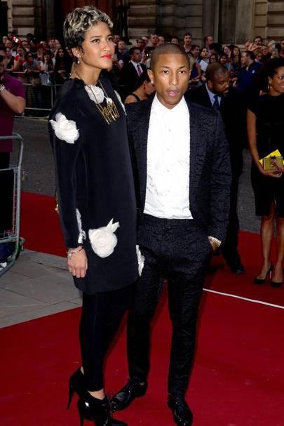 Helen Lasichanch & Pharrell Williams