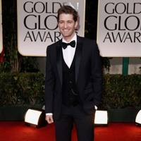 Matthew Morrison at the Golden Globes 2012