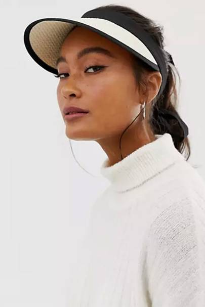 Best Sun Hats: Straw Visor