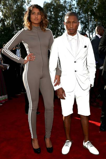 Helen Lasichanh & Pharrell Williams