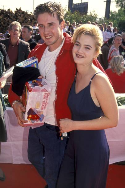 Drew Barrymore & David Arquette