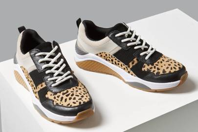 Sell-Out Leopard Print Trainers