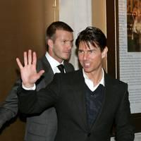 David Beckham & Tom Cruise