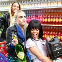 Rihanna, Cara Delevingne, Joan Smalls