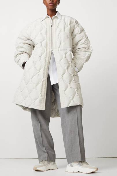 H&M duvet coat