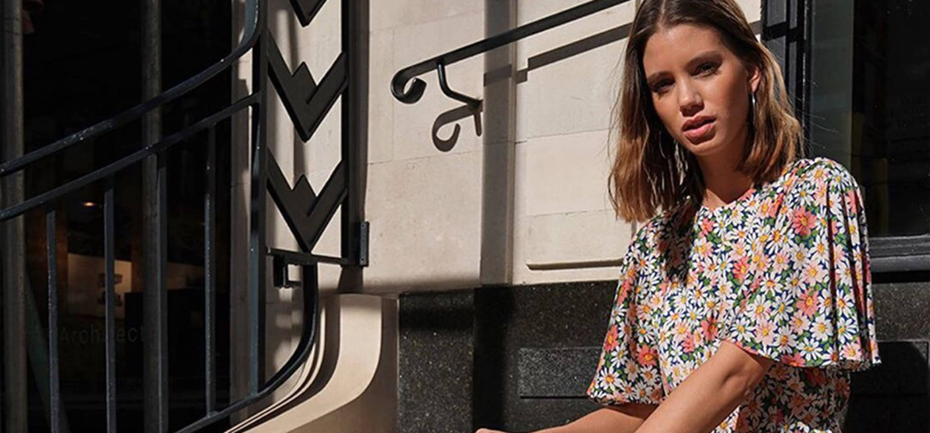 9a5189ef238ec4 Is This Topshop Austin Floral Print Midi Dress The It Dress Of 2019? |  Glamour UK