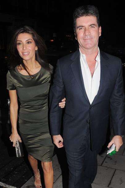 Simon Cowell & Mezhgan Hussainy