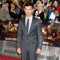 Taylor Lautner at the UK premiere of Breaking Dawn