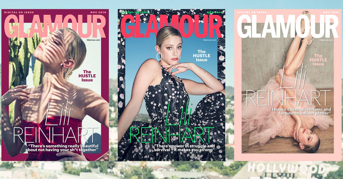 GLAMOUR's November coverstar Lili Reinhart: 'Life is not a FaceTune app – stretch marks, cellulite, real skin is beautiful' cover image