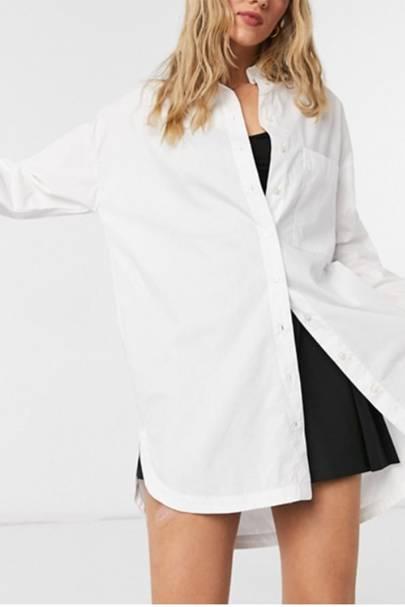 Best Women's White Shirts - Bershka