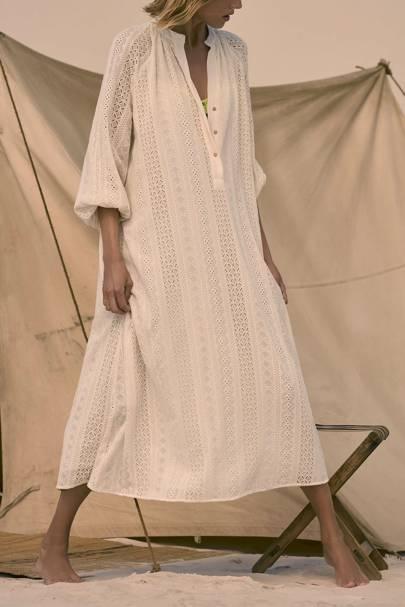 ZARA SUMMER SALE: WHITE DRESS