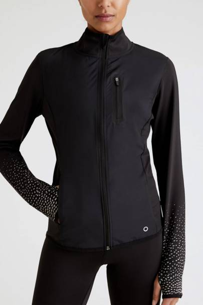 Best tight-fit reflective running jacket
