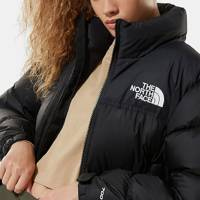 The North Face Puffer Jacket Women: the classic crop