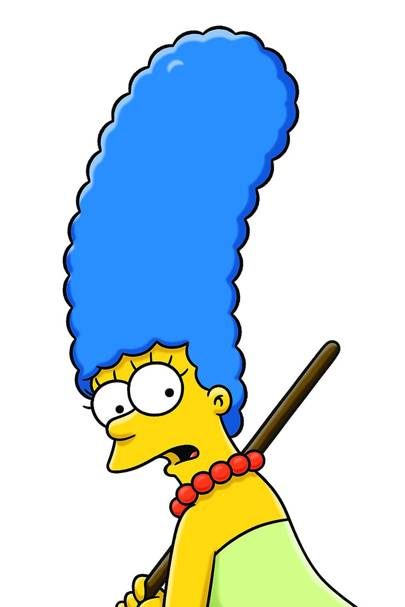 Marge Simpson's blue locks - The Simpsons, 1989-today