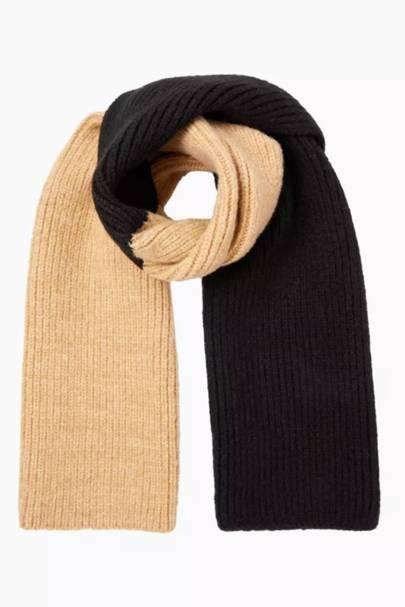 Best colour block scarf