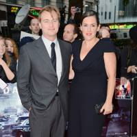 Christopher Nolan at The Dark Knight Rises premiere