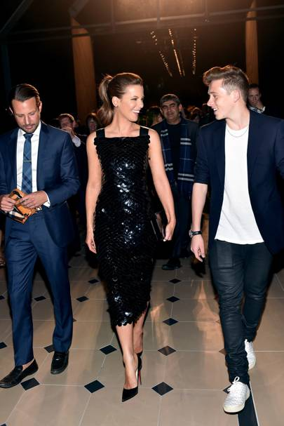 Kate Beckinsale and Brooklyn Beckham
