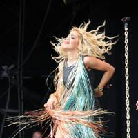 Rita Ora performs at T In The Park 2012