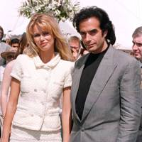 Claudia Schiffer & David Copperfield