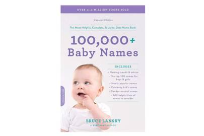 100,000 + Baby Names by Bruce Lanksy