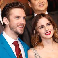 Emma Watson, actress and activist, by Dan Stevens, Beauty and the Beast co-star