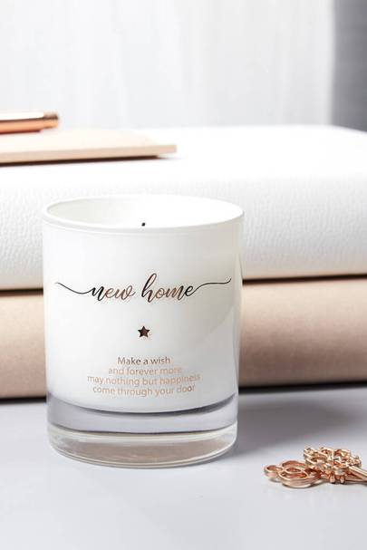 The personalised candle