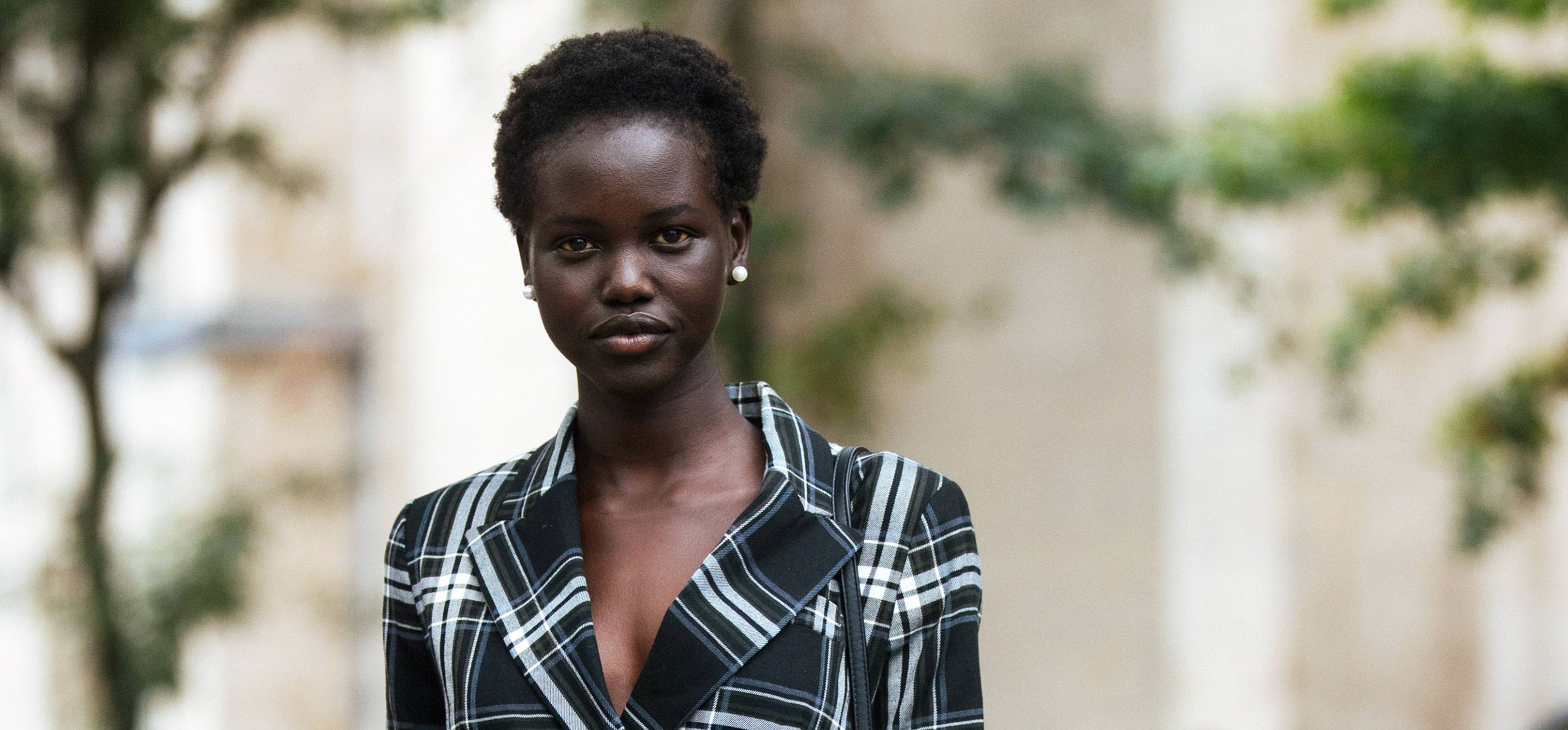 Who Is Adut Akech Meet The18 Year Old Model Of The Year Nominee