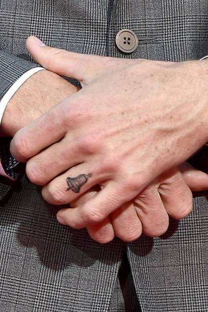 J Cole And His Wife Dax Shepard tattoo for...