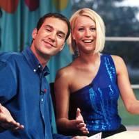 Johnny Vaughan with Denise Van Outen
