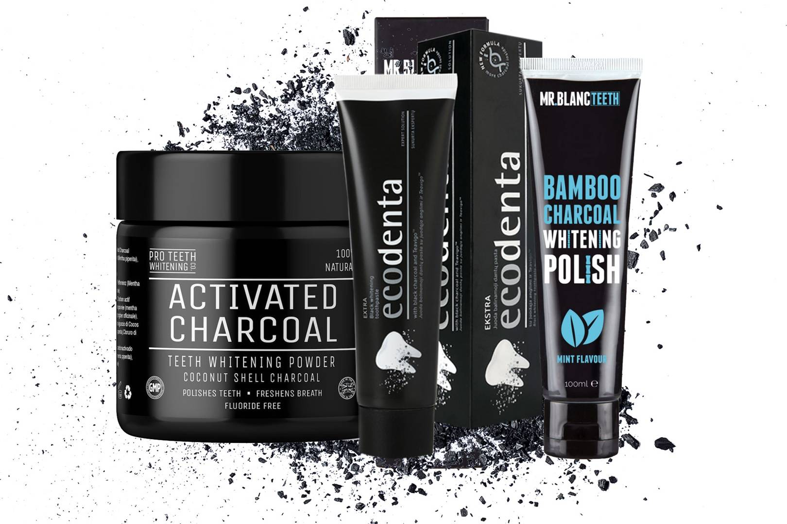 Benefits & Ways To Use Charcoal: Improve Skin, Hair