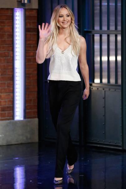 5ft 7in: Jennifer Lawrence