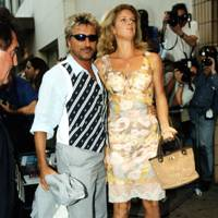No 22: Rod Stewart and Rachel Hunter