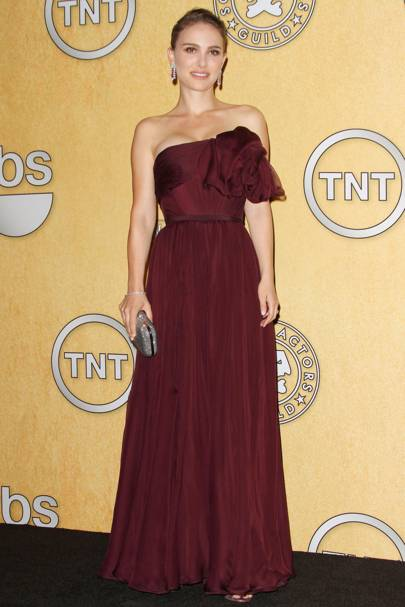 Natalie Portman at the SAGs 2012