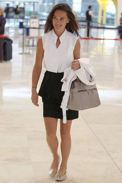 Pippa Middleton – Skirting It