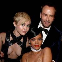 Miley Cyrus, Rihanna & Tom Ford