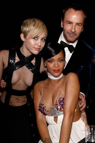Miley Cyrus, Rihanna & Tom Ford
