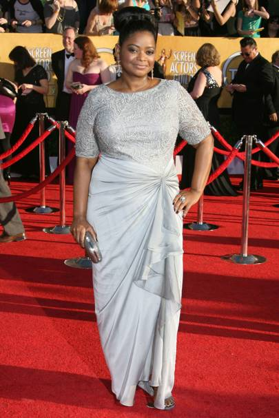 Octavia Spencer at the SAGs 2012