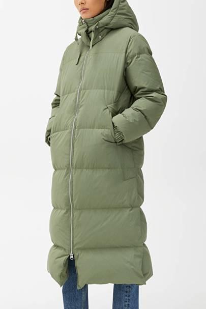Duvet coat khaki