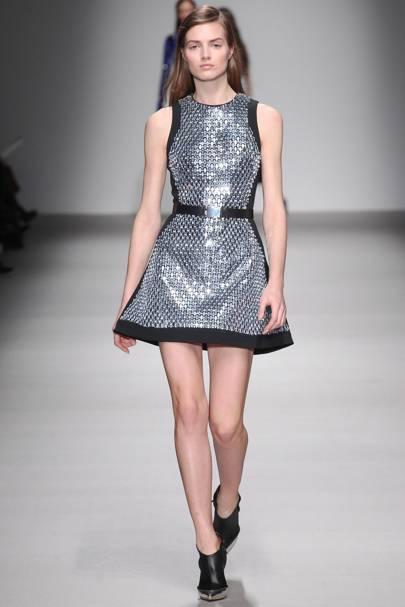 London Fashion Week sparkle and glitter trend autumn ...