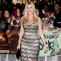 Holly Willoughby at the UK premiere of Breaking Dawn