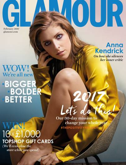 This Article Was First Published In The February 2017 Issue Of Glamour Magazine View Entertainment Anna Kendrick