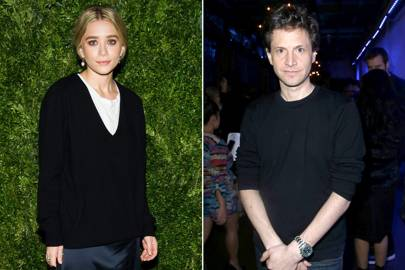 Marco with no last name? He used to go out with Ashley Olsen.