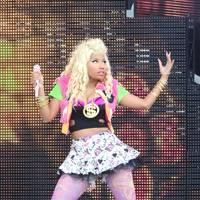Nicki Minaj performs at Barclaycard Wireless Festival 2012