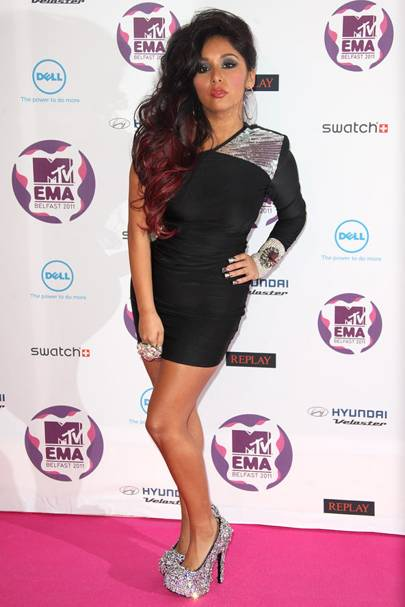 Snooki at the MTV EMAs 2011