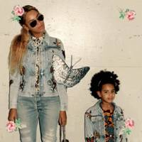 When Beyonce and Blue Ivy dressed like eachother