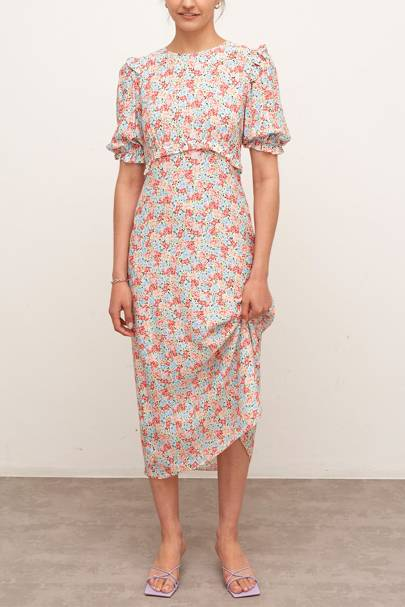NOBODY'S CHILD AT M&S - FLORAL TEA DRESS
