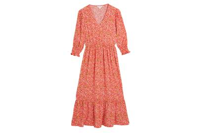 M&S x GHOST JUNE COLLECTION Orange Floral Dress