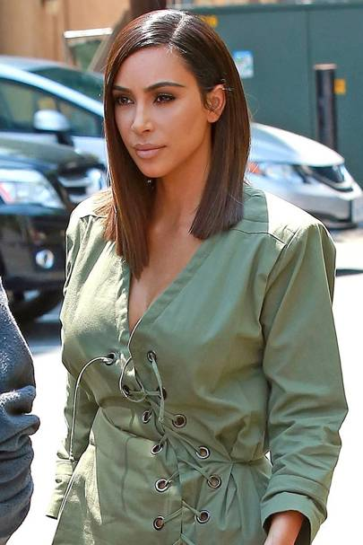 Kim Kardashian New Hair: Short Hairstyle | Glamour UK