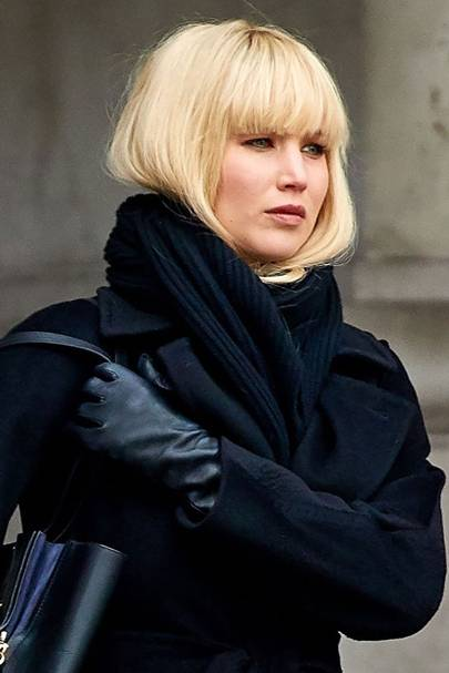 Jennifer Lawrence Fringe - New Bangs For Red Sparrow ...
