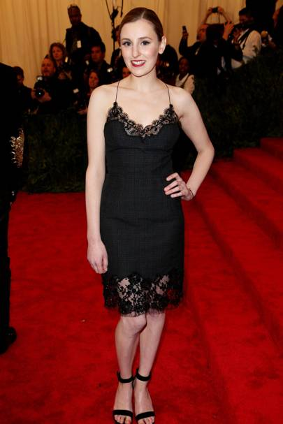 Laura Carmichael at the Met Gala